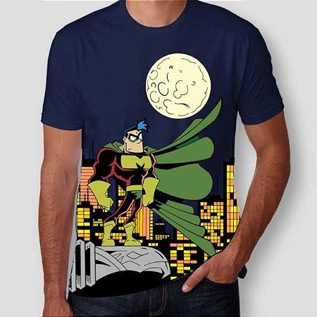 CAPITÃO MIOLO MOLE - Noturno - Camiseta de Heróis Brasileiros