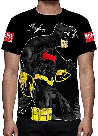 BRASIL COMICS - Joe Ventania - Camiseta de Heróis Brasileiros