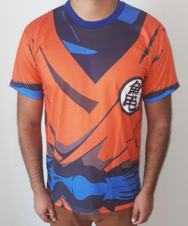 DRAGON BALL - Uniforme do Goku & Guerreiros Z - Camisetas de Anime
