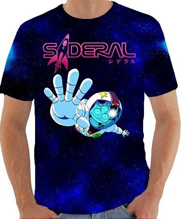 ARMON - Sideral Azul - Camisetas de heróis Brasileiros