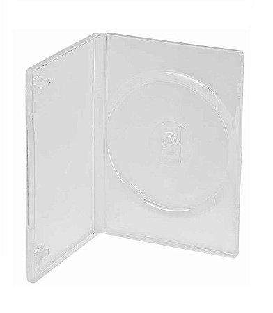 Estojo / Capa Dvd Box Amaray Transparente 100 Unidades