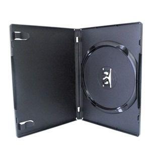 100 Estojo Capa Box Preto P/dvd Original Amaray Resistente