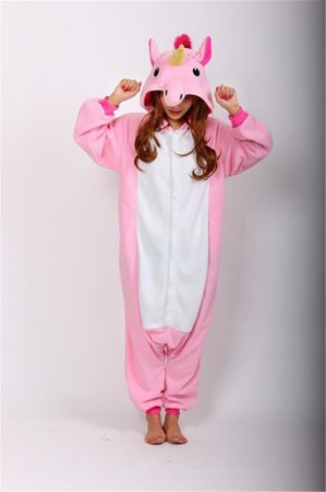 Lindo e Fofo Pijama de Unicórnio Unissex 4 cores.