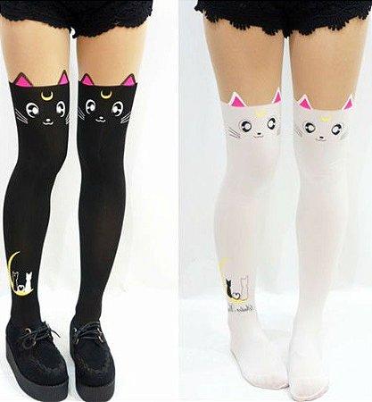 Meia Calça de Gato Sailor Moon - 2 cores