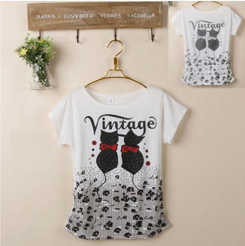Camisas Moda Verão com Estampas Variadas - Tamanho Único