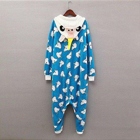Pijama Onesie Unicórnio Estampado