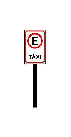 Placa de sinalização HO Ponto de táxi