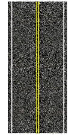 Adesivo Via Mão-dupla Reta/curva Ho (códs. 807 A 847)