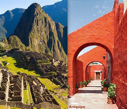 Peru magnífico. Machu Picchu, Cusco, Titicaca, Arequipa e Canyon do Colca. Pacote de 12 dias