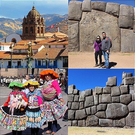 City Tour Arqueológico Cusco 4 sítios: Sacsayhuaman, Pukapukara, Qenqo e Tambomachay. 5h