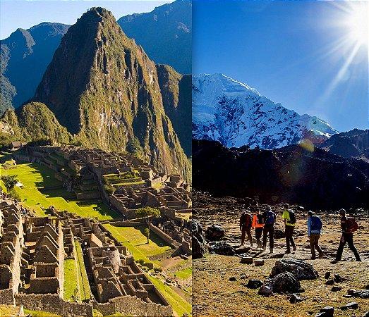 Peru: Trilha Salkantay. Trilha clássica de 5 dias + Combinado Cusco 4 dias. Pacote de 9 dias