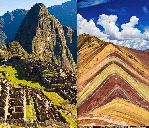 Peru Cusco, Machu Picchu, Vale Sagrado e Rainbow Mountain. Pacote de 7 dias