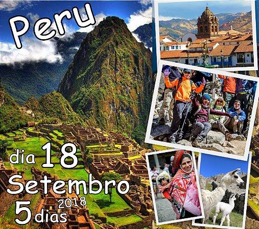 Excursão 18 de Setembro Peru 5 dias: Cusco, Vale Sagrado dos Incas e Machu Picchu.