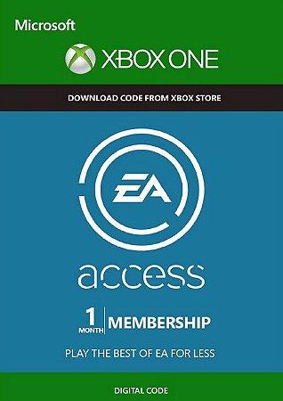EA ACCESS XBOX LIVE KEY GLOBAL 1 MONTH