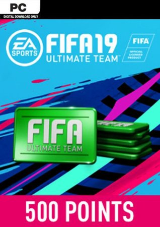 FIFA 19 ULTIMATE TEAM FUT ORIGIN GLOBAL 500 POINTS PC