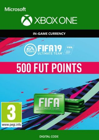 FIFA 19 ULTIMATE TEAM FUT XBOX LIVE GLOBAL 500 POINTS XBOX ONE