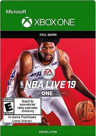 NBA LIVE 19: THE ONE EDITION XBOX LIVE KEY BRAZIL