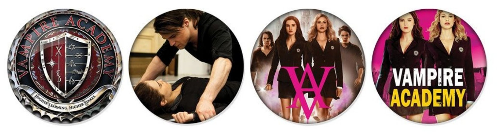 Kit Bottons - Vampire Academy