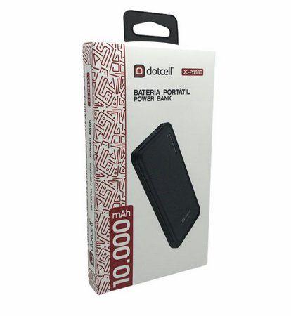 Bateria Portatil Power Bank Dotcell 10.000mah DC-PB830