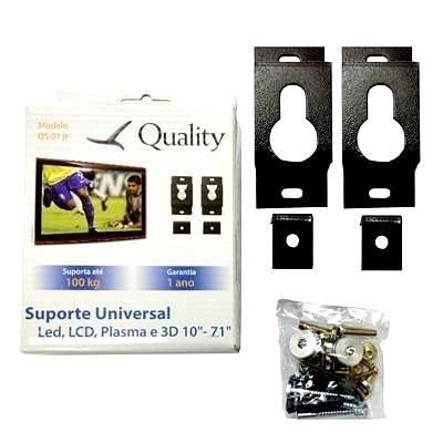 """Suporte Universal QS01 Led, LCD,Plasma e 3D 10""""-71"""""""