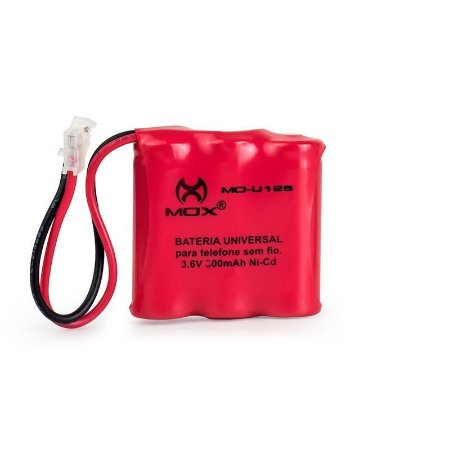 Bateria p/telefone s/ fio Mox  MO-U125