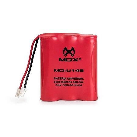 Bateria p/telefone s/ fio Mox MO-U145