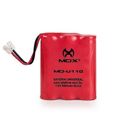 Bateria p/telefone s/ fio Mox MO-U110