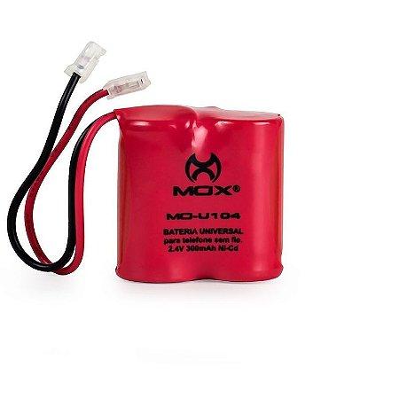 Bateria p/telefone s/ fio MO-U104