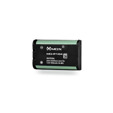 Bateria p/telefone s/ fio Mox MO-P104