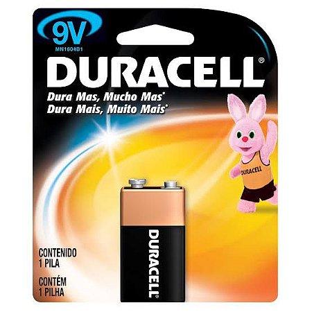 Bateria Duracell 9V C/1
