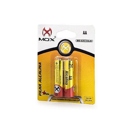 Pilha Mox Alkalina AA C/2 MO-AAC2ALK