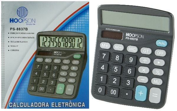 Calculadora Hoopson  PS 8837B