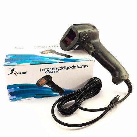 Leitor Laser De Codigo De Barras C/Fio Kp-1017