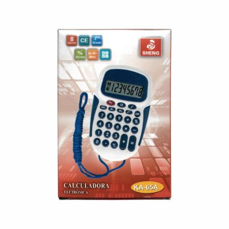 Calculadora de Cordinha 8 Digitos ka-65A