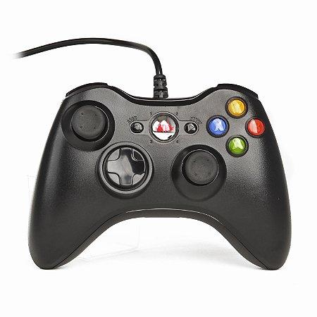 Controle Joystick Usb Pc Estilo Xbox B-MAX BM-322 Vibração