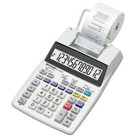 Calculadora Sharp C/Bobina 1750