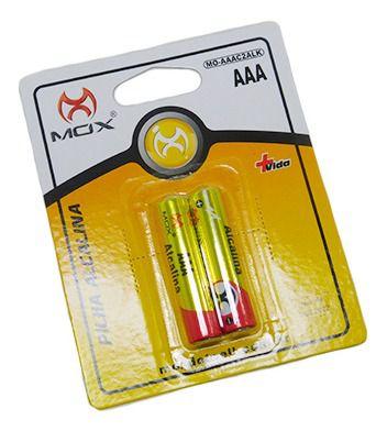 Pilha Mox Alkalina AAA C/2 MO-AAAC2ALK