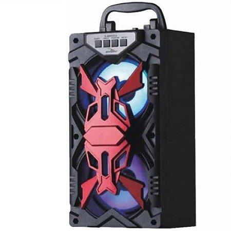 Caixa De Som Bluetooth Portátil 10W RMS Grasep D-BH4204