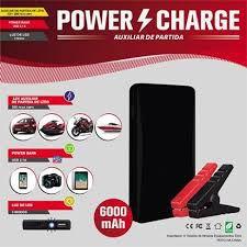 POWER CHARGE - Auxiliar De Partida Portátil