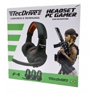 Headser Pc Gamer Tecdrive F4