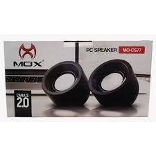 Caixa de Som 2.0 com 6W para Pc Speaker MOX MO-CS77