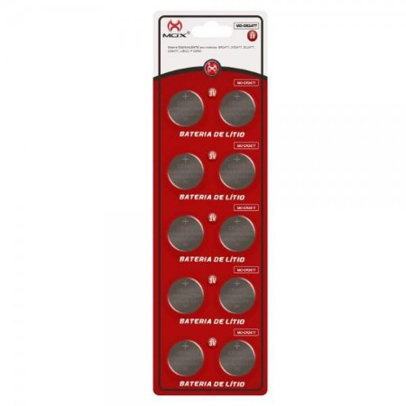 Bateria Mox MO-2477 Cartela C/10