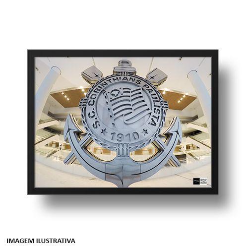 Quadro Arena Corinthians Escudo de Aço