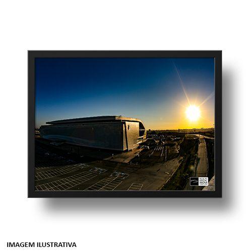 Quadro Arena Corinthians e o Sol