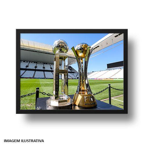Quadro Arena Corinthians e os Mundiais