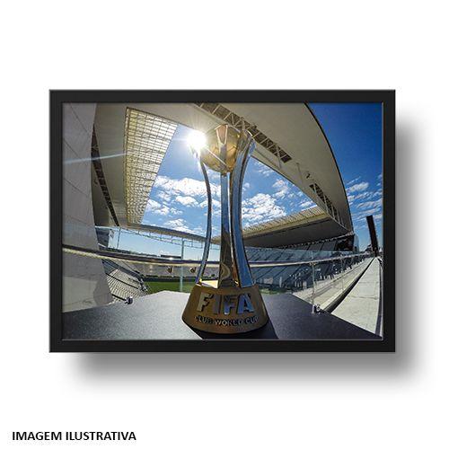Quadro Arena Corinthians e o Mundial 2012