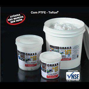 Graxa base TEFLON com fluído de silicone  (lubrificação película fusor 100g) K30