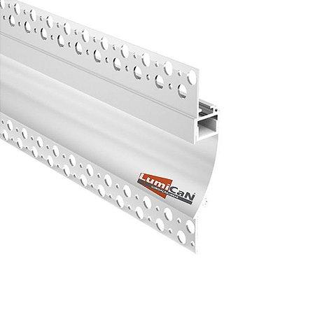 Perfil Led Alumínio No Frame Sobrepor 9,6cm x 2,8cm - LUM96