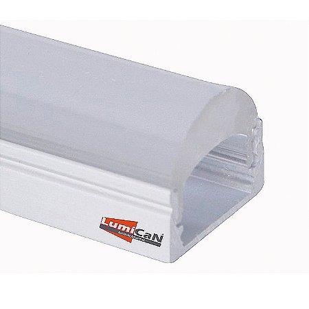 Perfil Led Alumínio Sobrepor 1,7cm x 2,0cm - LUM30