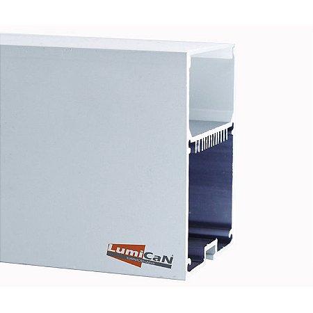 Perfil Led Alumínio Pendente 5,0cm x 7,0cm - LUM71